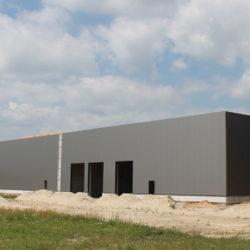 Eissing | Neubau der Firmenhalle in Schüttorf